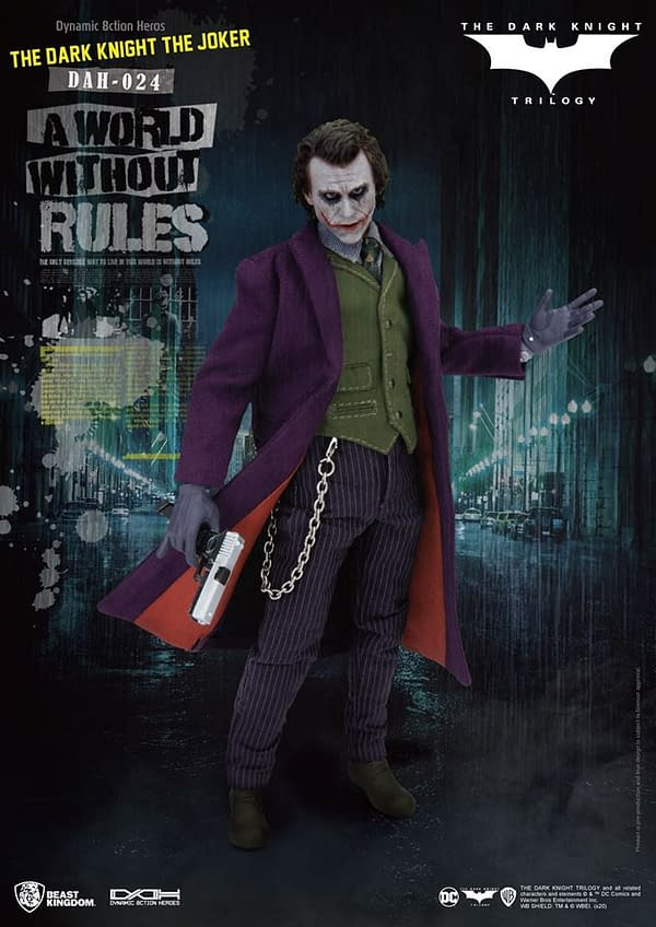 Teh Dark Knight Joker Figure from Beast Kingdom