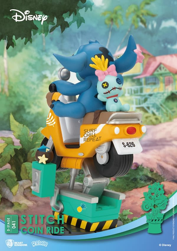 Disney Movies Get Attraction Ride Statues with Beast Kingdom