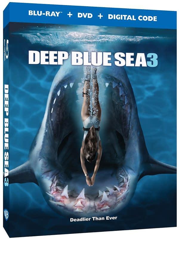 Deep Blue Sea 3 Blu-ray Swims Home On August 25th