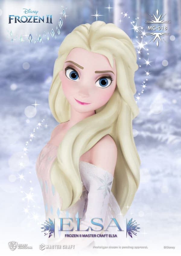 Frozen II Elsa Gets a Master Craft Statue From Beast Kingdom