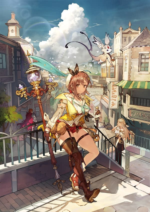 A look at the promo art for Atelier Ryza 2, courtesy of Koei Tecmo.