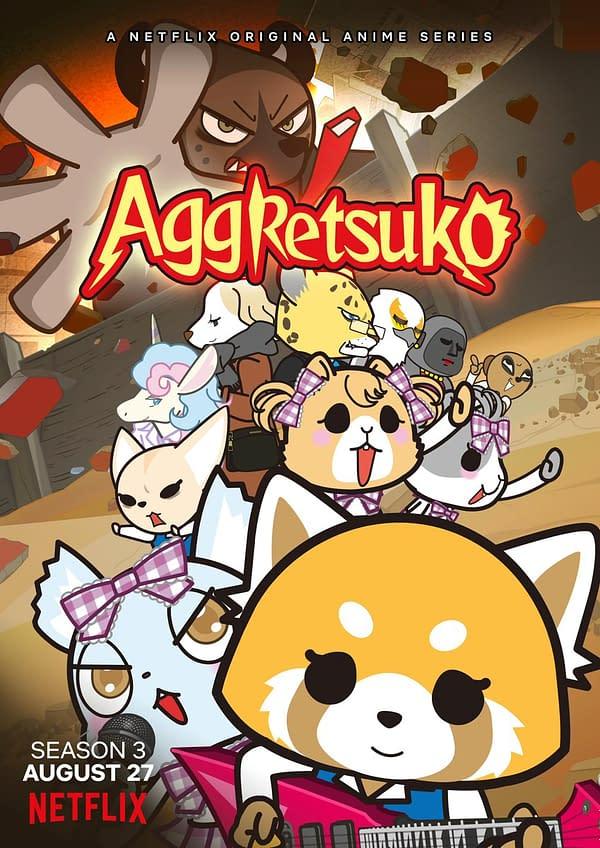 Aggretsuko Season 3 Release date Revealed by Netflix