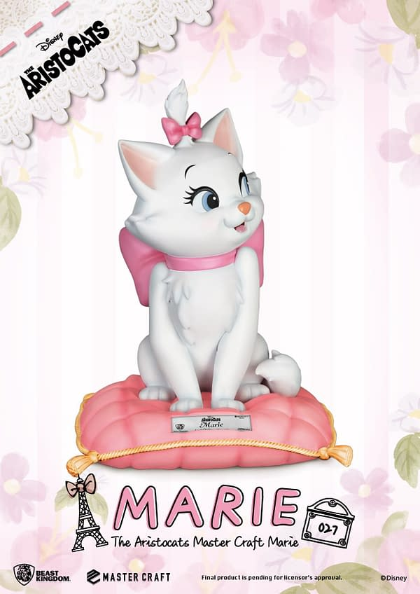 Disney Aristocats Marie Gets Fancy With Beast Kingdom
