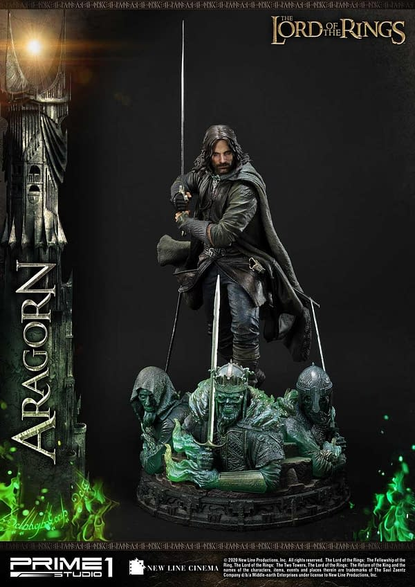 Lord of the Rings Return of the King Aragorn Prime 1 Studio Statue