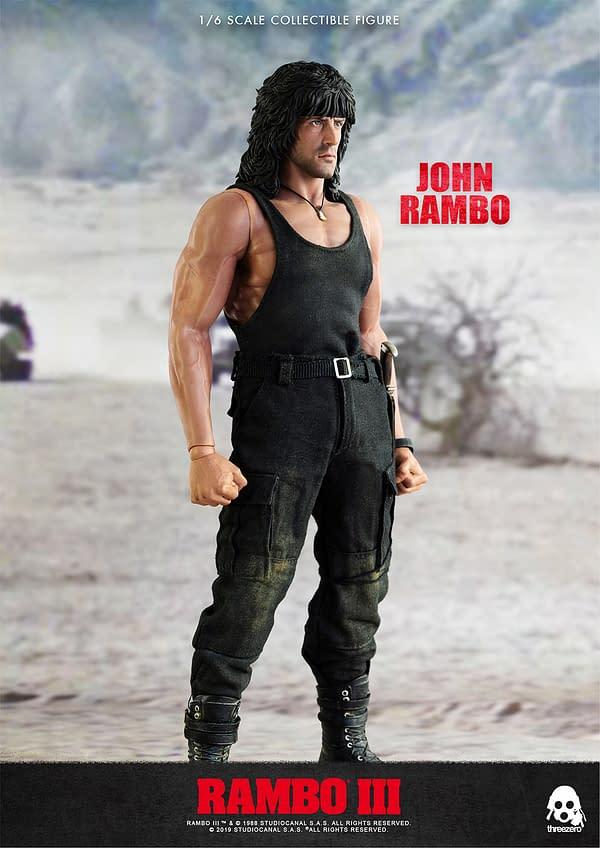 Rambo III FIgureGetting a Second Production Run from Threezero