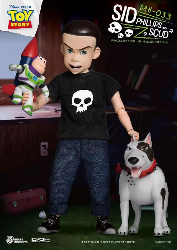 Toy Story's Sid Become a Toy With Beast Kingdoms Dynamic 8ction Heroes
