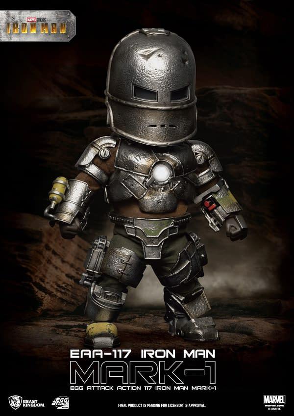 Iron Man Mark 1 EAA Makes His Landing at Beast Kingdom
