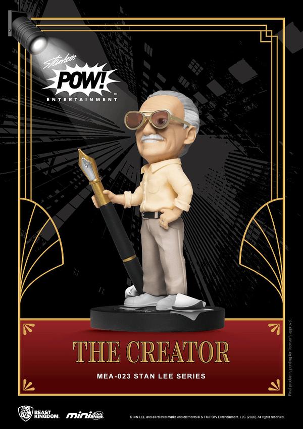 Stan Lee Gets Three New Mini Statues From Beast Kingdom