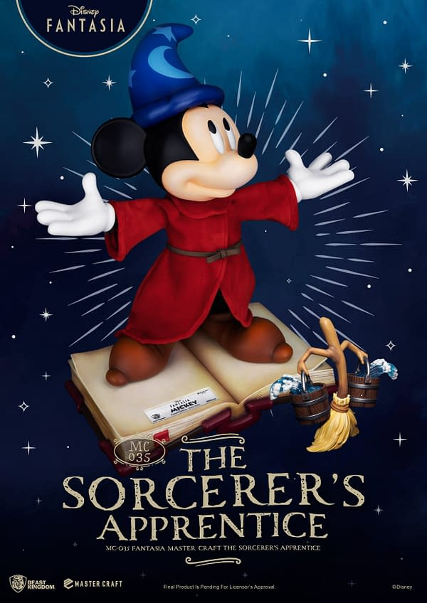 Mickey Mouse Is the Sorcerers Apprentice With Beast Kingdom
