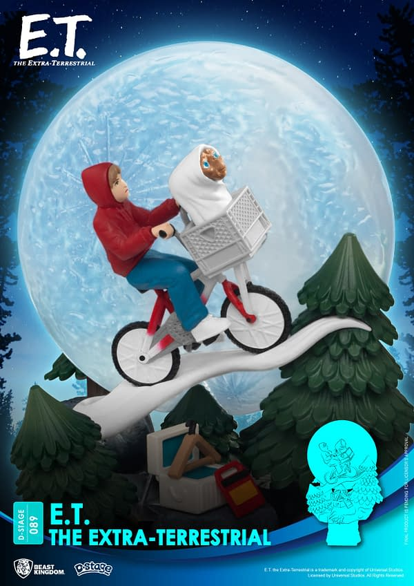 E.T. The Extra-Terrestrial Gets New Statue From Beast Kingdom