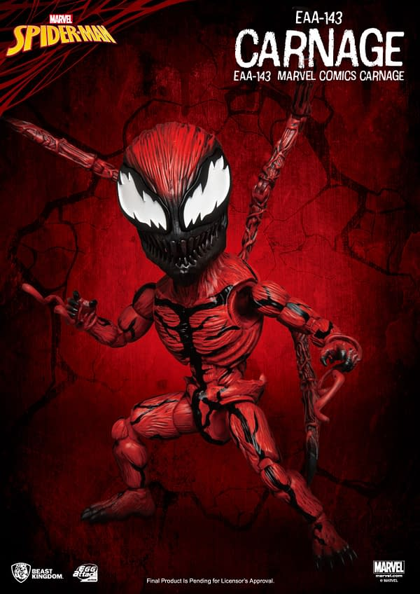 Carnage Paints The Town Red With New Beast Kingdom EAA Figure