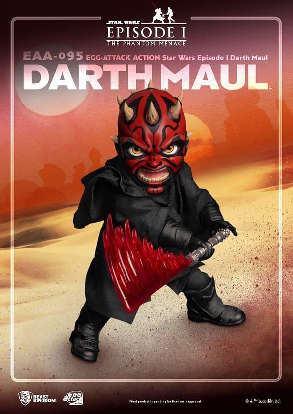 Darth Maul Wants Revenge With New Beast Kingdom EAA Figure