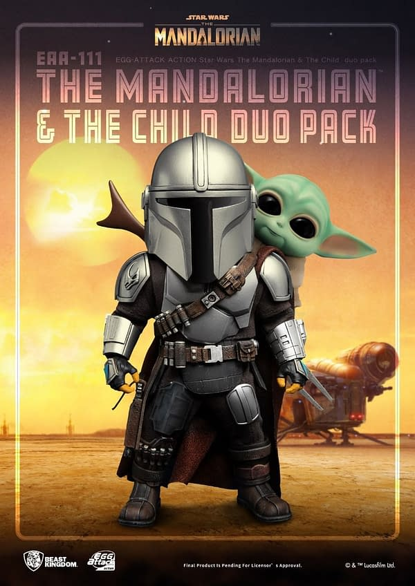 The Mandalorian and The Child Join the Beast Kingdom EAA Line-Up
