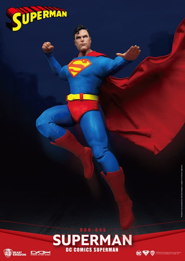 Superman Save the Day With Beast Kingdom's Newest Figure