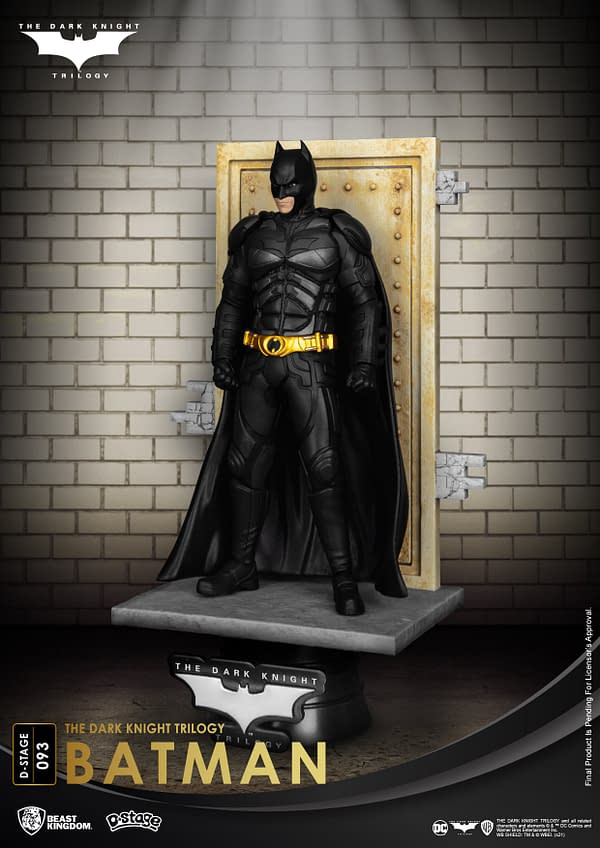 Beast Kingdom Unveiled New D-Stage The Dark Knight Statues
