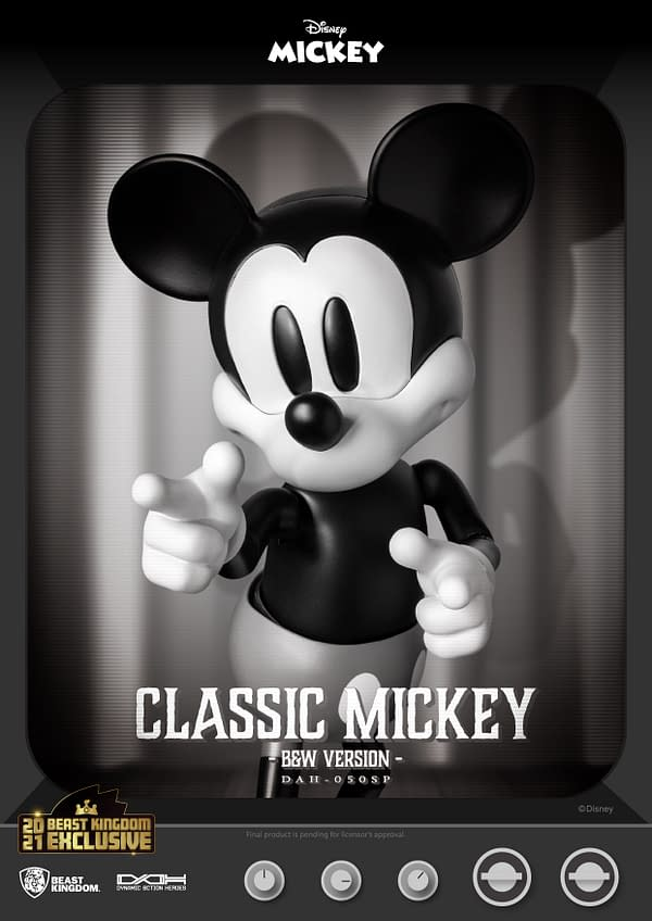Mickey Mouse Travels Back to 1928 With Beast Kingdom