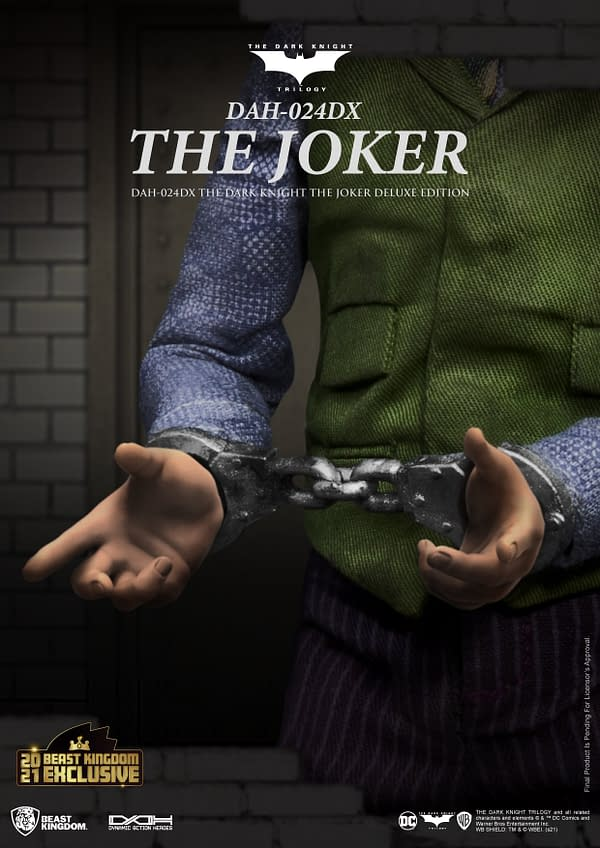 The Dark Knight Joker Gets Exclusive SDCC Figure From Beast Kingdom