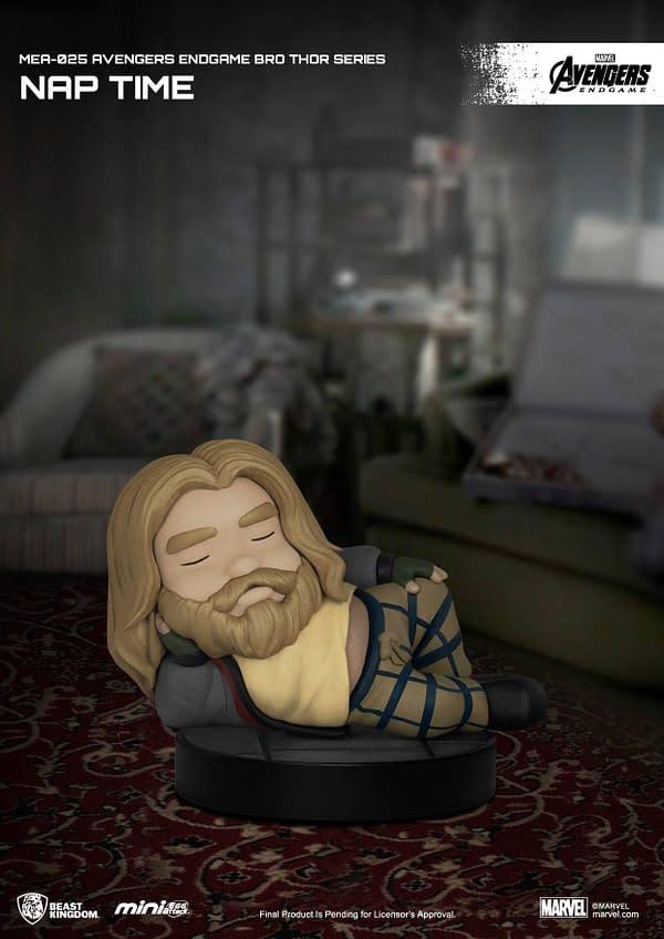 Mini Egg Attach Avengers: Endgame Bro Thor Arrive at Beast Kingdom