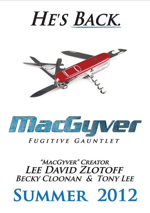 How MacGyver Came To Comics by Tony Lee