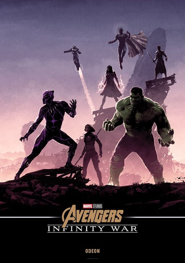 Avengers: Infinity War Gets 5 Connected Posters Exclusively for Odeon Cinemas