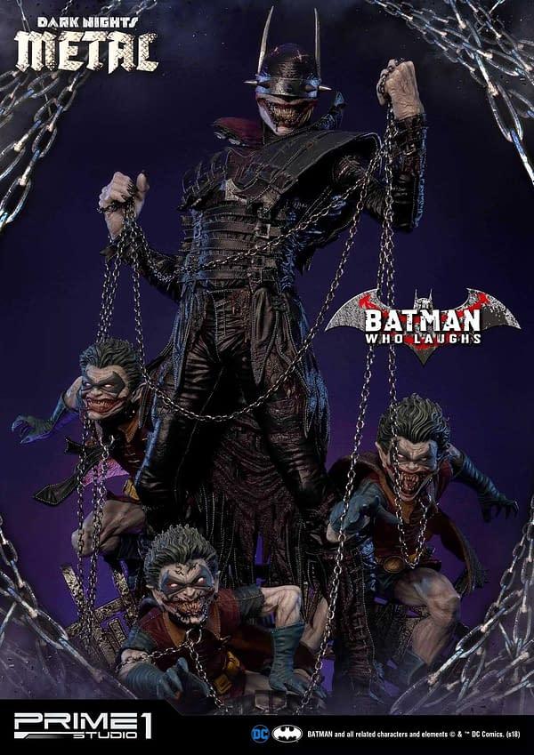 Dark Knights Metal Batman Who Laughs Prime 1 Studio Statue 1