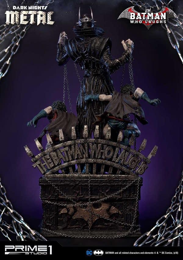 Dark Knights Metal Batman Who Laughs Prime 1 Studio Statue 3