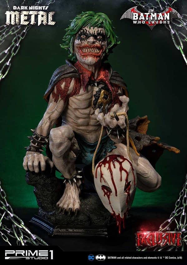 Dark Knights Metal Batman Who Laughs Prime 1 Studio Statue Exclusive 2