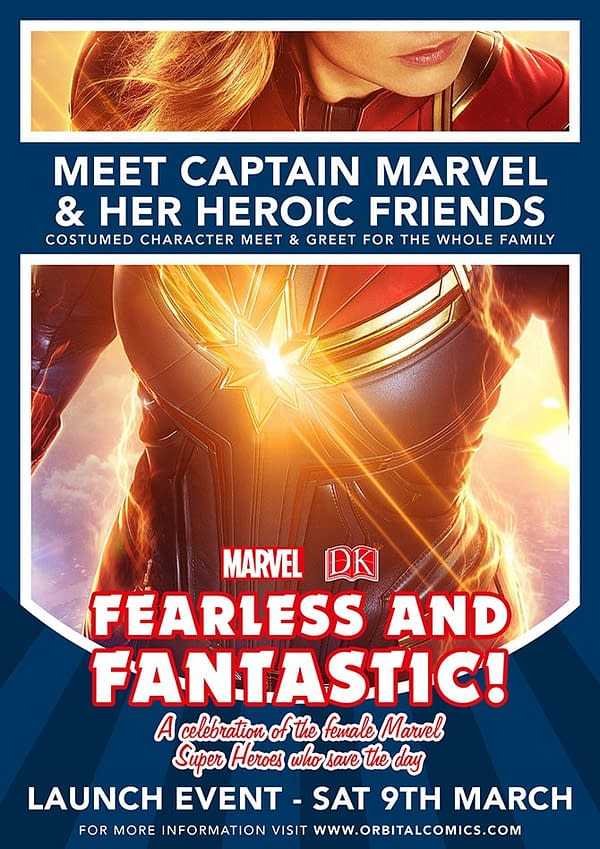 Orbital Comics Launch Fearless And Fantastic Celebration of Marvels Female Super Heroes