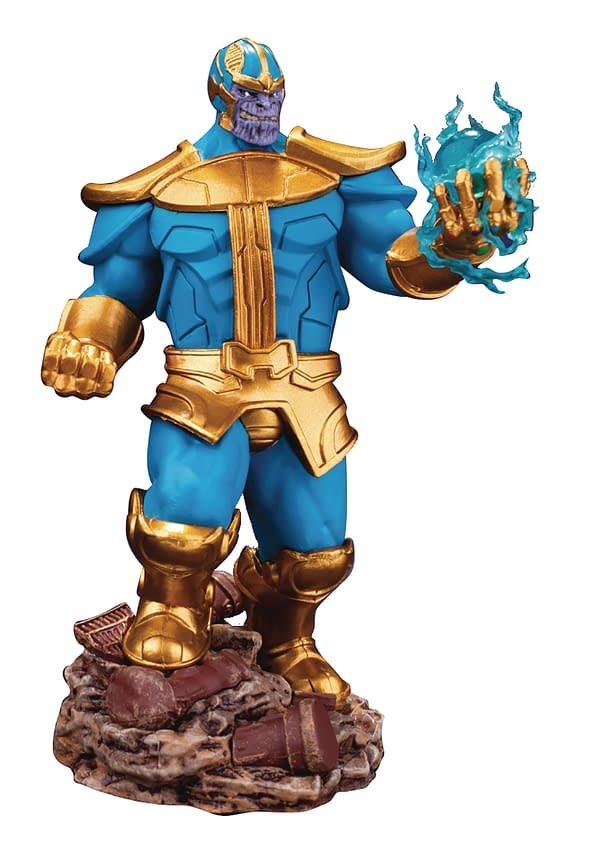 New Beast Kingdom, Hiya Toys Figures Include Thanos, Spidey, Batman