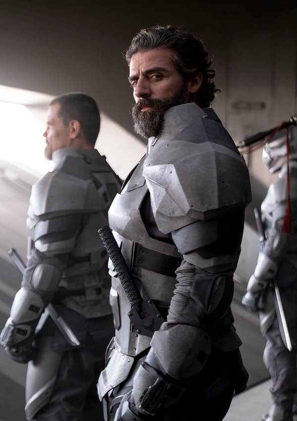 Copyright: © 2020 Warner Bros. Entertainment Inc. All Rights Reserved. Photo Credit: Chiabella James Caption: OSCAR ISAAC as Duke Leto Atreides in Warner Bros. Pictures and Legendary Pictures' action adventure