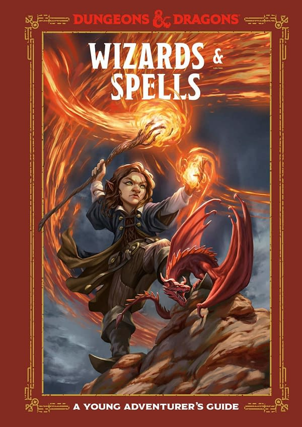 The cover of Dungeons & Dragons Wizards & Spells, courtesy of Ten Speed Press.