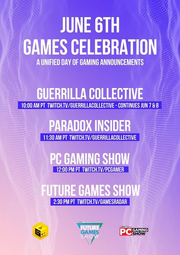 June 6 Games Celebration