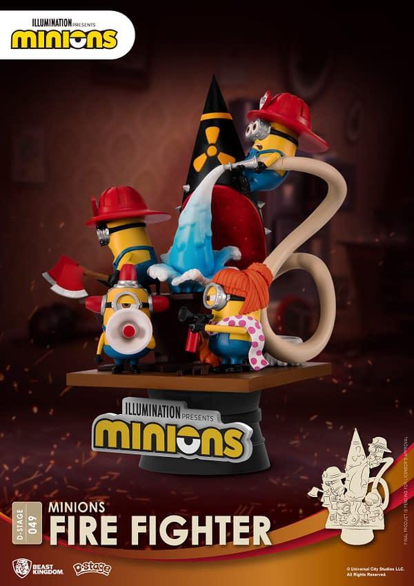Minions Beast Kingdom Statues