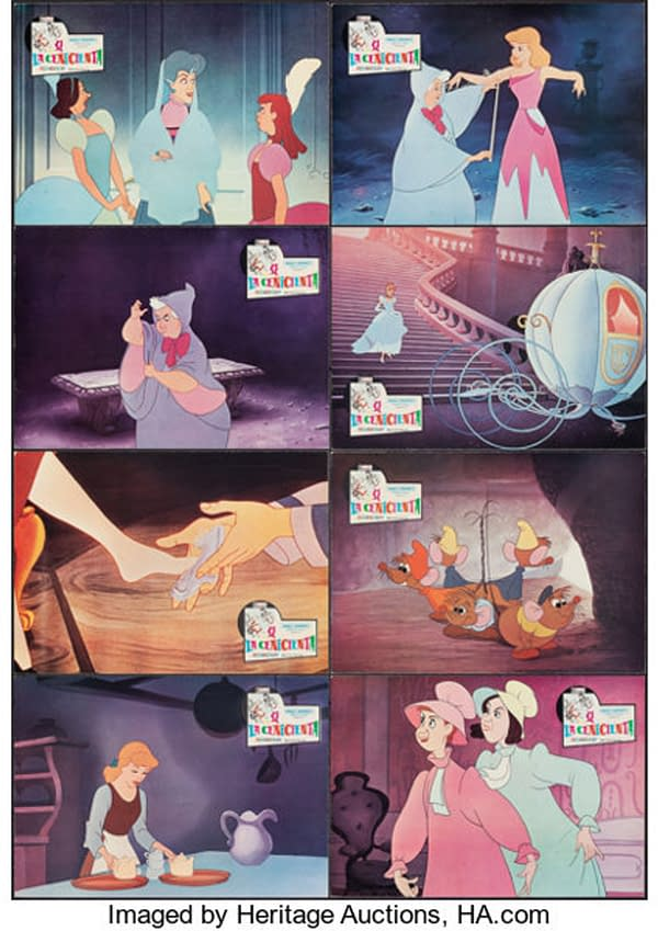 Will You be the Next Owner of these Spanish Cinderella Lobby Cards?