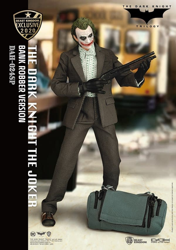 Dark Knight Bank Robber Joker Beast Kingdom exclusive