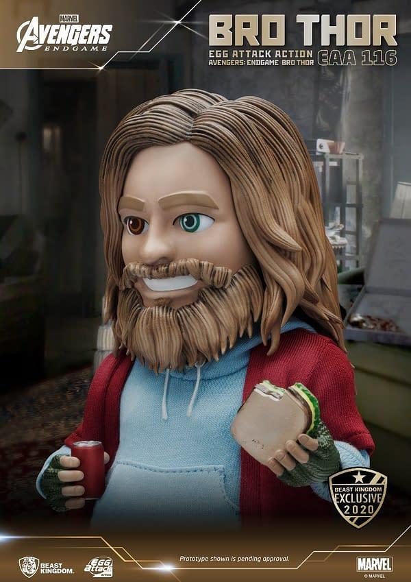 Avengers: Endgame Bro Thor Becomes SDCC Beast Kingdom Exclusive