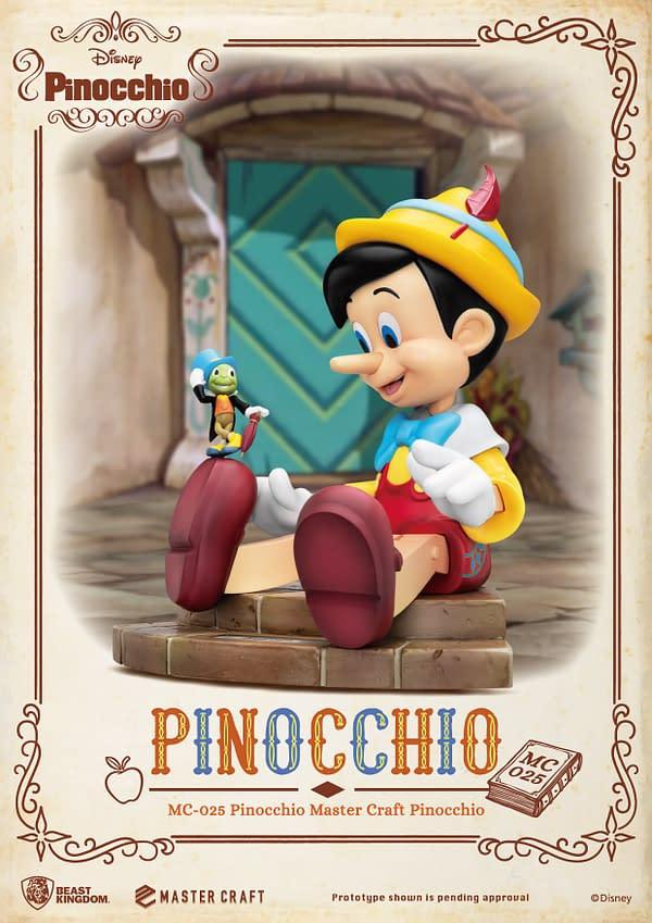 Disney Pinocchio mastercraft statue from beast kingdom