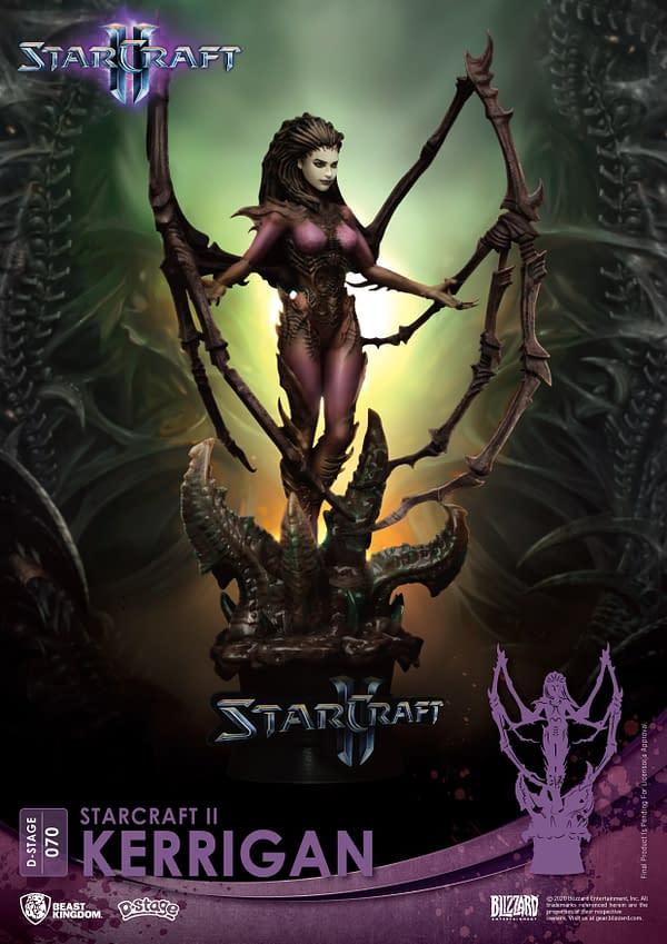 Beast Kingdom Celebrates StarCraft II 10th Anniversary