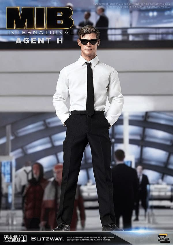 Men in Black International Agents Come to Life with Blitzway