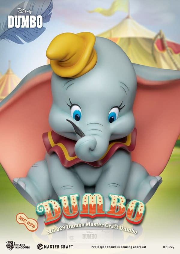 Dumbo Flies on in with New Master Craft Beast Kingdom Statue