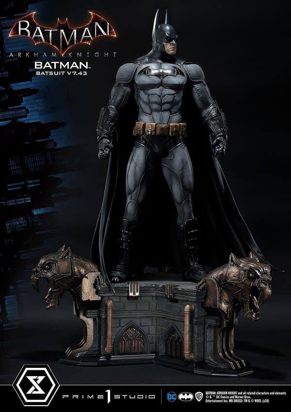 Batman Batsuit V7.43 Comes to Life with Prime 1 Studio