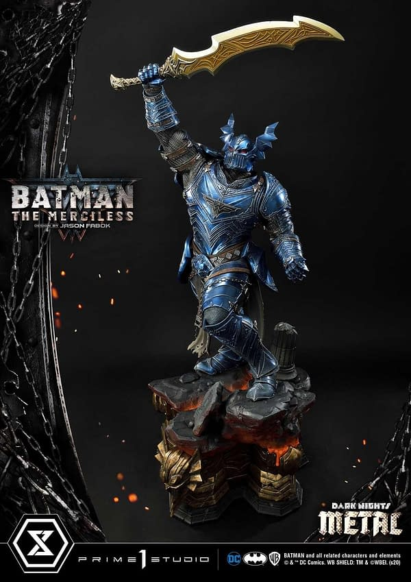 Batman The Merciless Rises with New Prime 1 Studio Statue