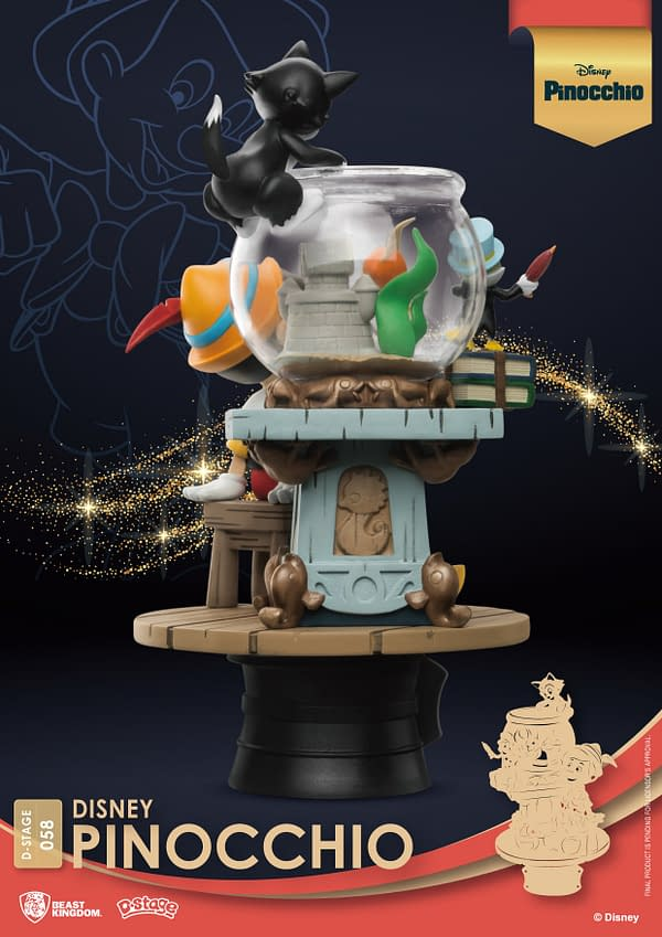 Pinocchio Takes It Easy With New Disney Statue From Beast Kingdom