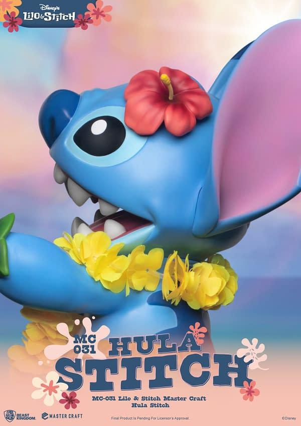 Hula Stitch Is Here With New Lilo & Stitch Statue From Beast Kingdom