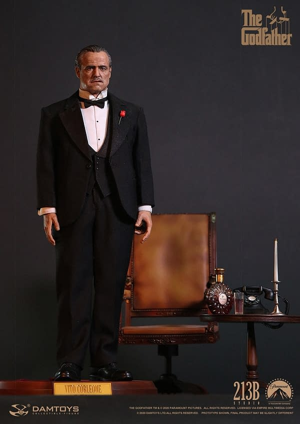 Bring The Godfather Home with New 1/6 Vito Corleone from DAMTOYS