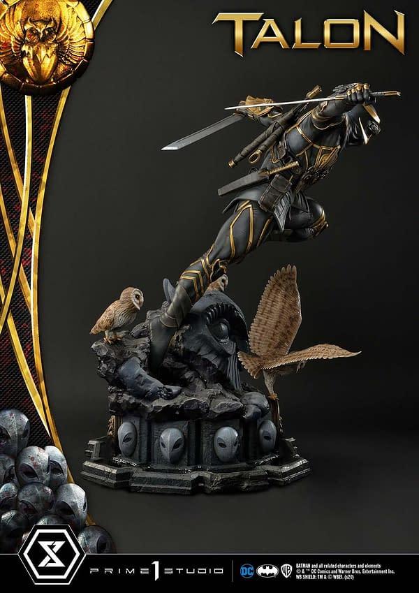 Batman Court of Owls Talon Statue Arrives At Prime 1 Studio