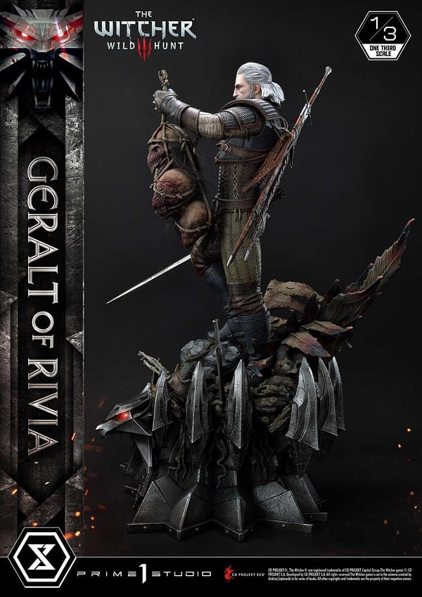 The Witcher 3: Wild Hunter Gets New Statue from Prime 1 Studio
