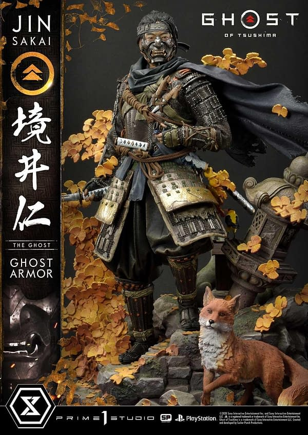 Ghost of Tsushima Jin Sakai Becomes The Ghost with Prime 1 Studio