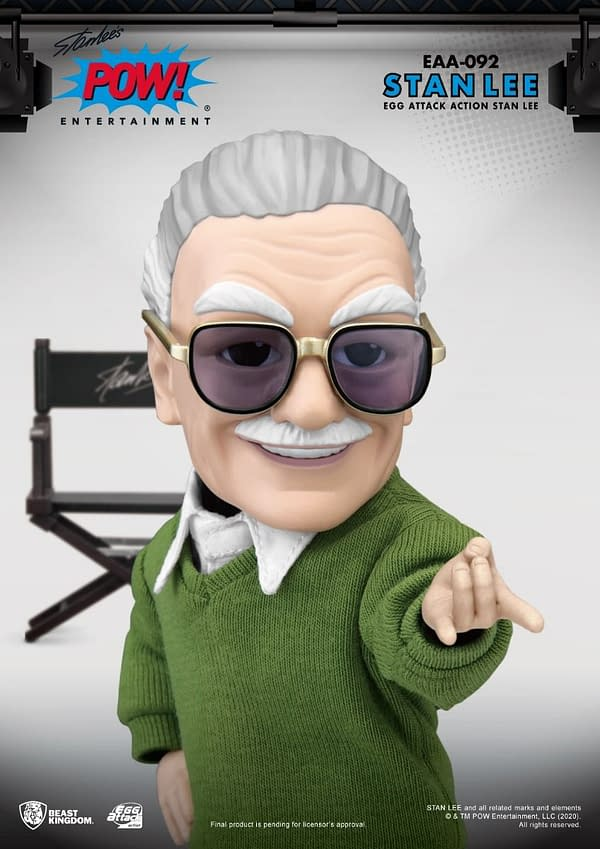 Stan Lee Joins Beast Kingdom With New EAA Figure