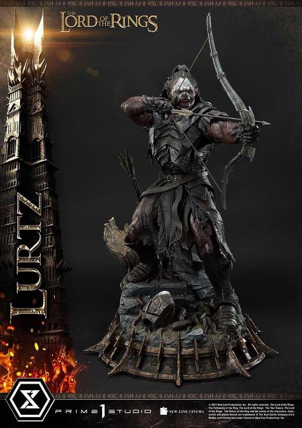 Lord of the Rings Uruk-hai Lurtz Wants Blood with Prime 1 Studio